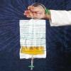 Urinbeutel 2,0 l NRV unsteril mit Bodenablauf 90 cm Schlauch (200 Stück)