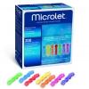 Microlet Lanzetten farbig (200 Stück)