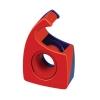 Klebefilmabroller Tesa Easy Cut rot-blau