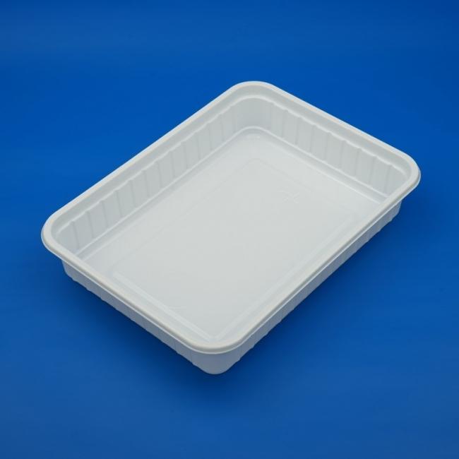 Schale 500 ccm, PS, weiß, 135 x 183 x 35 mm (500 Stück)